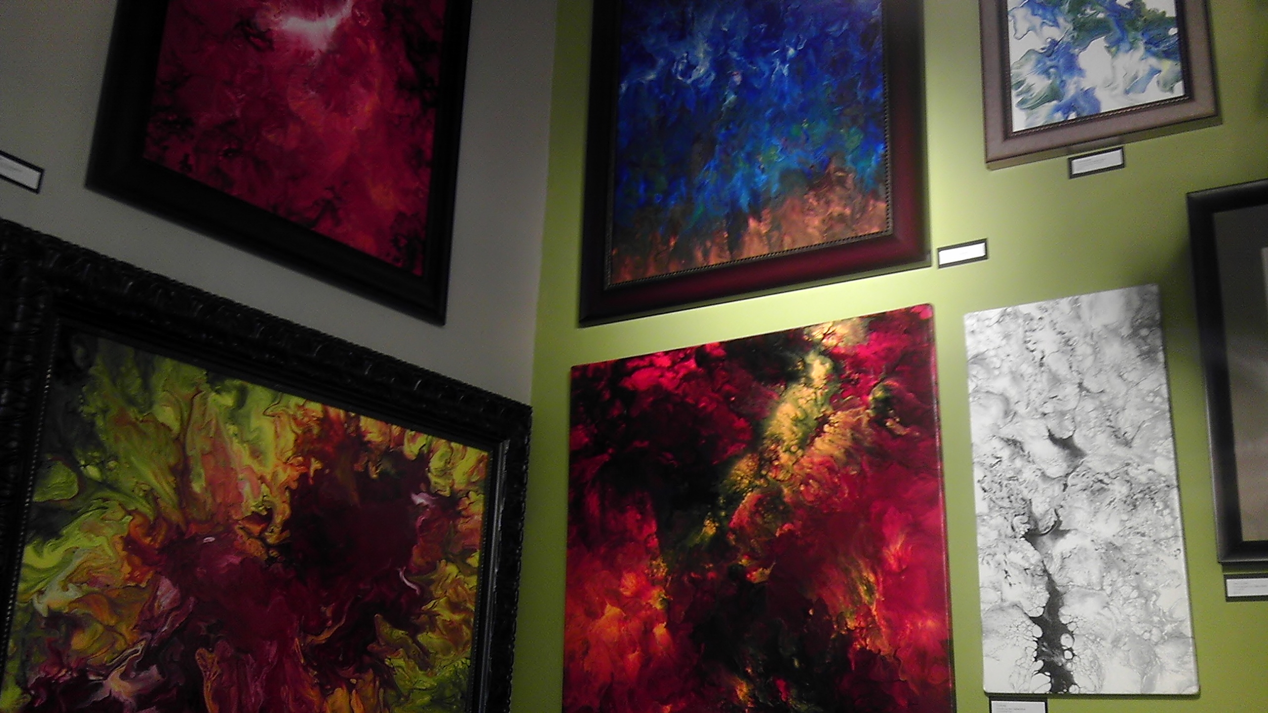 The Fine Art and Frame Company - Abstract Artist Eric Siebenthal