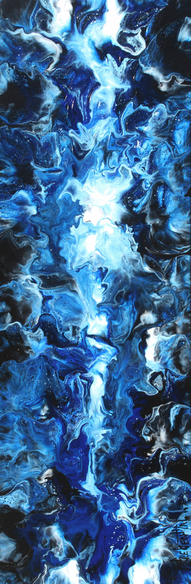 The Essence - Fluid Acrylic Art by Eric Siebenthal - Acrylicmind.com