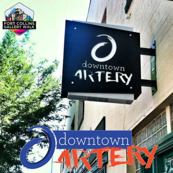 Downtown Artery - Fort Collins Art Walk - Eric Siebenthal