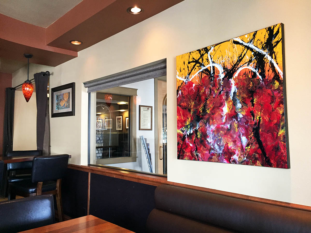 Unconditional - Abstract Art - Fort Collins - Cafe Vinos