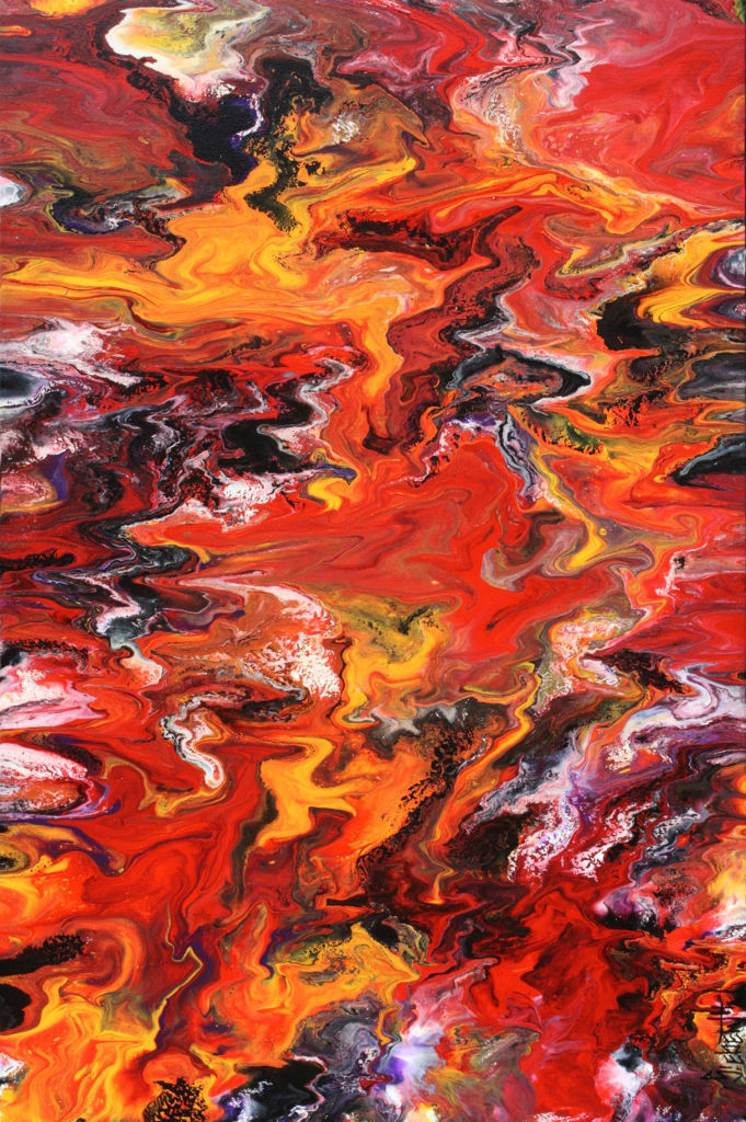 The Perception - Fluid Acrylic Art by Eric Siebenthal - Acrylicmind.com